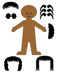 african american paper doll template paper doll disign help your talent needed page