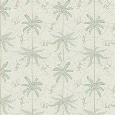 This Mauritz wallpaper is designed by Karolina Kroon for Sandberg Tyg