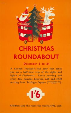 London Transport poster, Victor Galbraith, 1958