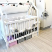 This is one of our favorite gender-neutral nursery garlands.