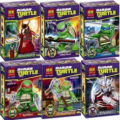 $4.73 (Buy here: https://alitems.com/g/1e8d114494ebda23ff8b16525dc3e8/?i=5&ulp=https%3A%2F%2Fwww.aliexpress.com%2Fitem%2F6pcs-set-Teenage-Mutant-Ninja-Turtles-TMNT-Ninjagoes-Mini-Building-Blocks-super-hero-figure-kids-Toys%2F32774478538.html ) 6pcs/set Teenage Mutant Ninja Turtles TMNT Ninjagoes Mini Building Blocks super hero figure kids Toys Bricks compatible legoes for just $4.73