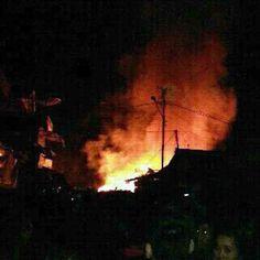 Pasar Bukit Kemuning Terbakar, Lima Kios Hangus