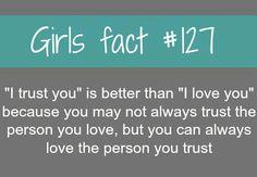 I Trust You Guys.