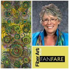 FanFare interviews Fiber Artist Carol Ann Waugh about her work and marketing