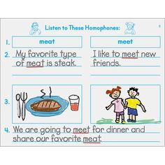 Writing Homophones support resource from Really Good Stuff   (12 bks. for $21.48- 56 pgs ea.)