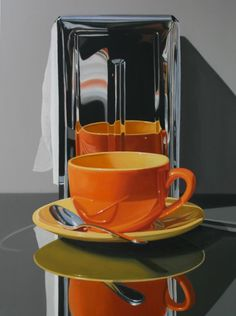 """Daryl Gortner   February 26, 2012   Commissioned   Mornin' Brew Oil on Canvas 40"""" x 30"""""""
