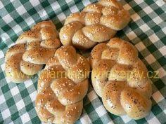 Kváskové housky Croissants, Hamburger, Food And Drink, Bread, Crescents, Brot, Crescent Roll, Baking, Burgers