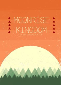 This Moonrise Kingdom Art Print has a great, friendly color scheme. Think about it :-)