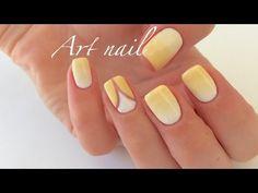 Градиент Гель-Лаком! Растяжка (Омбре) Гель-Лаком! Spring Summer Nail Art - YouTube