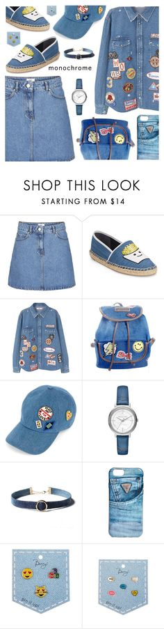 """""""One Color, Head to Toe"""" by shoaleh-nia ❤ liked on Polyvore featuring Circus by Sam Edelman, MANGO, UNIONBAY, Tommy Hilfiger, Michael Kors and GUESS"""