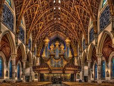 Holy Name Cathedral, Chicago - organ inside | Well, I though… | Flickr