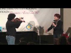 Clases magistrales en el Concurso Internacional de Violin Buenos Aires