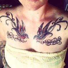 #Swallow tattoos http://tattoo-ideas.us