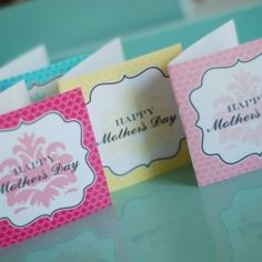 """I love the idea of giving little notes to the girlfriends in your life. I love my besties and there is so much that I admire about them. They are wonderful mothers and great examples to me. Why not print off these cute notecards from ""Andersruff"" and jot down a little something you love about your best friends for Mother's Day? I bet they will be touched and it will make their day even brighter"""