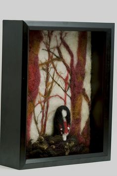 Ghost Girl, Red Forest | felt-in-a-box