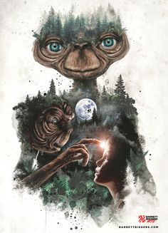 E.T. the Extra Terrestrial Tribute - Created by Barrett Biggers