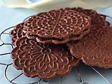 Chocolate Peppermint Pizzelle Recipe : Food Network Kitchens : Recipes : Food Network