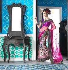 Traditional Indian Wear Cocktail Saree Net Bollywood Saree Wedding Attire