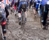 The deep mud challenged every rider © Cyclocross Magazine
