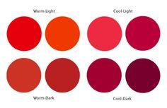 Imagini Pentru Cool And Warm Red Tones