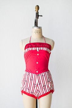 Vintage 1950's swimsuit from Adored Vintage