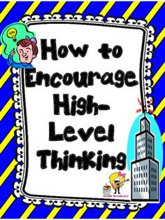 FREE FOR A LIMITED TIME!! Higher-Level Thinking Lesson Plans AND Printables for Any Book