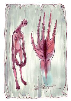 """Ein Blutgänger aus """"Herz aus Schatten"""" - Illustration von Anja Uhren Illustration, Shadows, Heart, Illustrations"""
