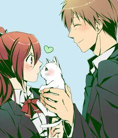 Gou and Makoto :3