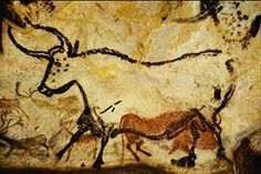 Eyeconart:Art of Prehistory. simple but even back then these small art pieces were a representation of their animals and their canvases were the caves
