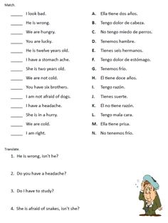 42 Best Tener Expressions Images Spanish Class Learning Spanish