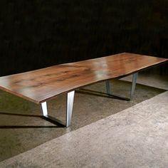 live edge stone tables - Google Search