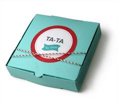 Lifestyle Crafts Favor Idea using the Mini Pizza Box die www.lifestylecrafts.com