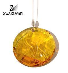 Swarovski Crystal 2010 SCS Event Fire Window Ornament Suncatcher #1017151