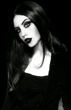 Gothic beauty.