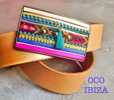 Handcrafted Belt & Buckle made by OCO Ibiza.