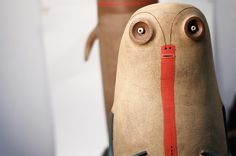 Comical Ceramic Figures Produced With Ancient Materials by Luciano Polverigiani