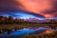 Sunrise at Tetons by Slava Mylnikov on 500px