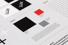 Brand identity guidelines for American venture capital firm Lux Capital by Mucho, United States
