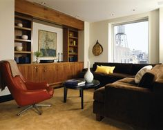 Living Room Mid Century Modern Design, Pictures, Remodel, Decor and Ideas - page 21