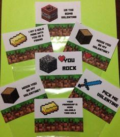Cute Kid Minecraft Valentine Craft Ideas For A Classroom