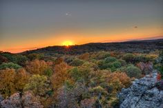 Garden of the Gods, Shawnee National Forest - 11 Places in Illinois You Must See Before You Die.