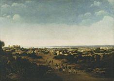Gezicht op de ruïnes van Olinda, Brazilië 1665