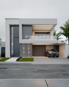 House Outer Design, House Outside Design, Best Modern House Design, Modern Villa Design, Modern Exterior House Designs, House Front Design, Dream House Exterior, Architect Design House, Bungalow House Design