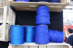 Filati #faidate #fiera #bologna #diy #stiching #cucito #needle #corso #threads #blue