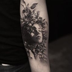 #Tattoo by #TattoocynProTeam  artist Oscar Åkermo  @oscarakermo now @bangbangnyc  Artists and studios want to try Tattoocyn AfterCare - http://ift.tt/2bRIKwK  Latest post from our Instagram Account @tattoocyn