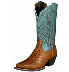Ive always wanted ostrich skin boots