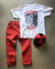"""Tupac Cali Love T-Shirt, size small (measures 19"""" chest x 26"""" length), $32 (+$8 Shipping) 