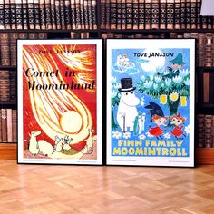 Moomin poster - Comet in Moominland - The Official Moomin Shop Moomin Shop, Tove Jansson, Frame It, Where The Heart Is, Picture Frames, Give It To Me, Joker, Fan Art, Wallpaper