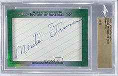 Monte Irvin Manufacturer ENCASED Cut Signature #1/46 (Baseball Card) 2015 Leaf Cut Signature History of Baseball Edition #MOIR -- Awesome products selected by Anna Churchill