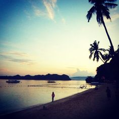 The joy of early morning walk in the beach. Early Morning, Philippines, Walking, Joy, Celestial, Sunset, Spring, Beach, Outdoor